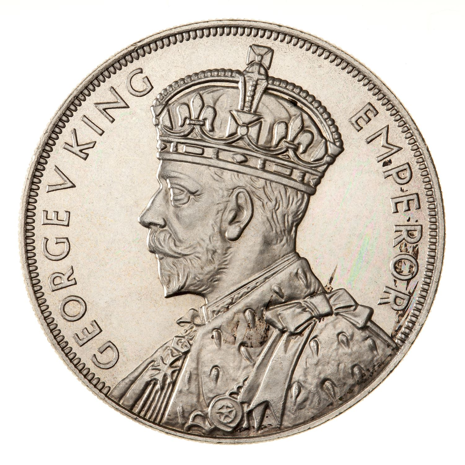 Crown: Photo Proof Coin - Crown (5 Shillings), New Zealand, 1935