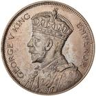 Half Crown 1935: Photo Proof Coin - 1/2 Crown, New Zealand, 1935