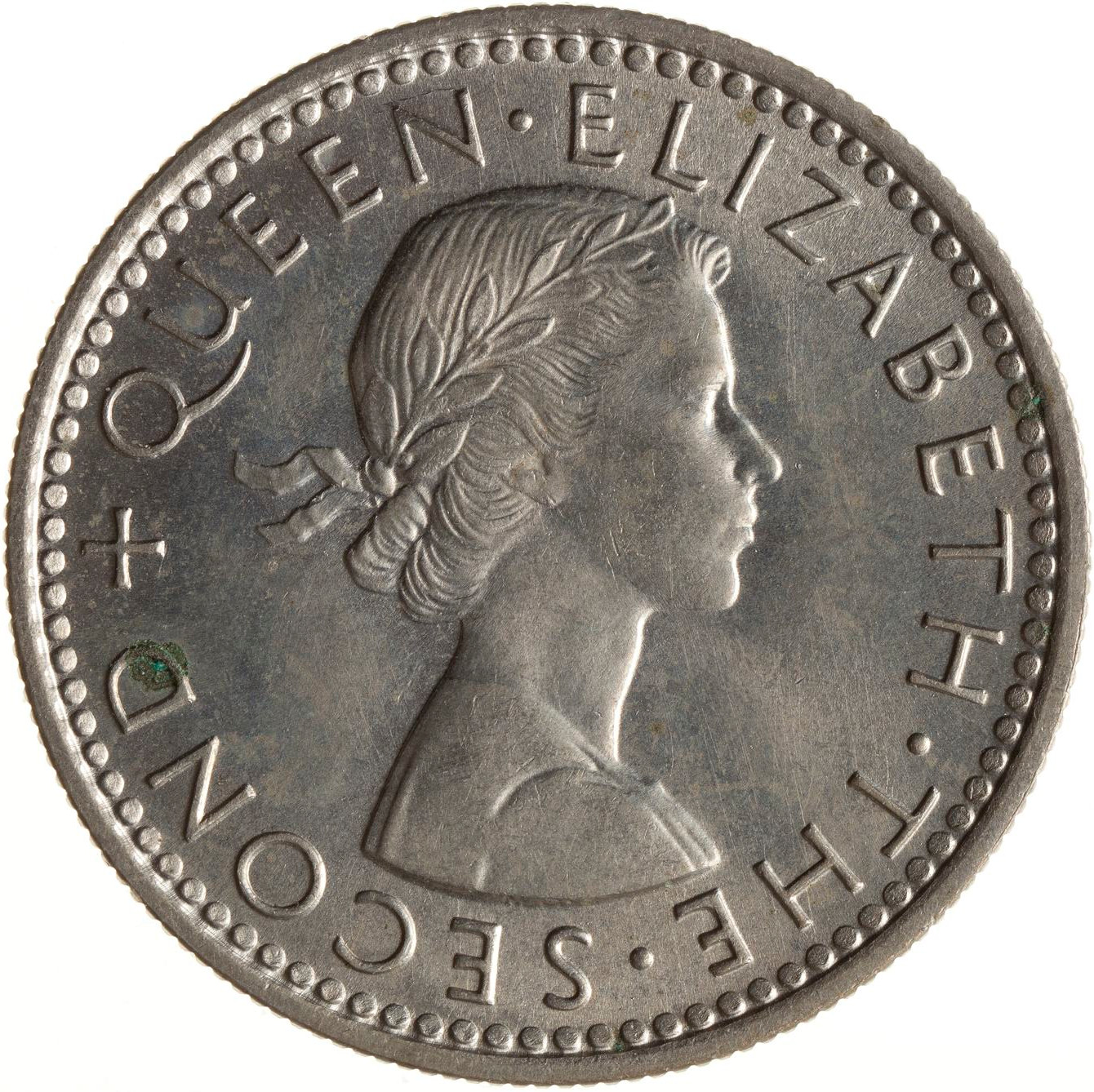 Sixpence 1961: Photo Coin - 6 Pence, New Zealand, 1961
