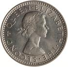New Zealand / Sixpence 1961 - obverse photo