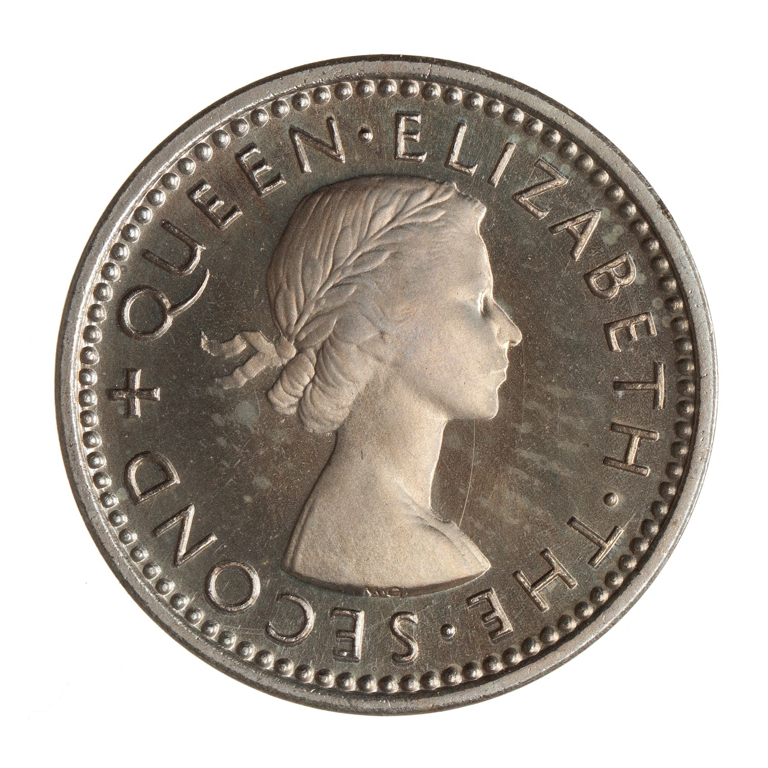 Threepence: Photo Proof Coin - 3 Pence, New Zealand, 1953