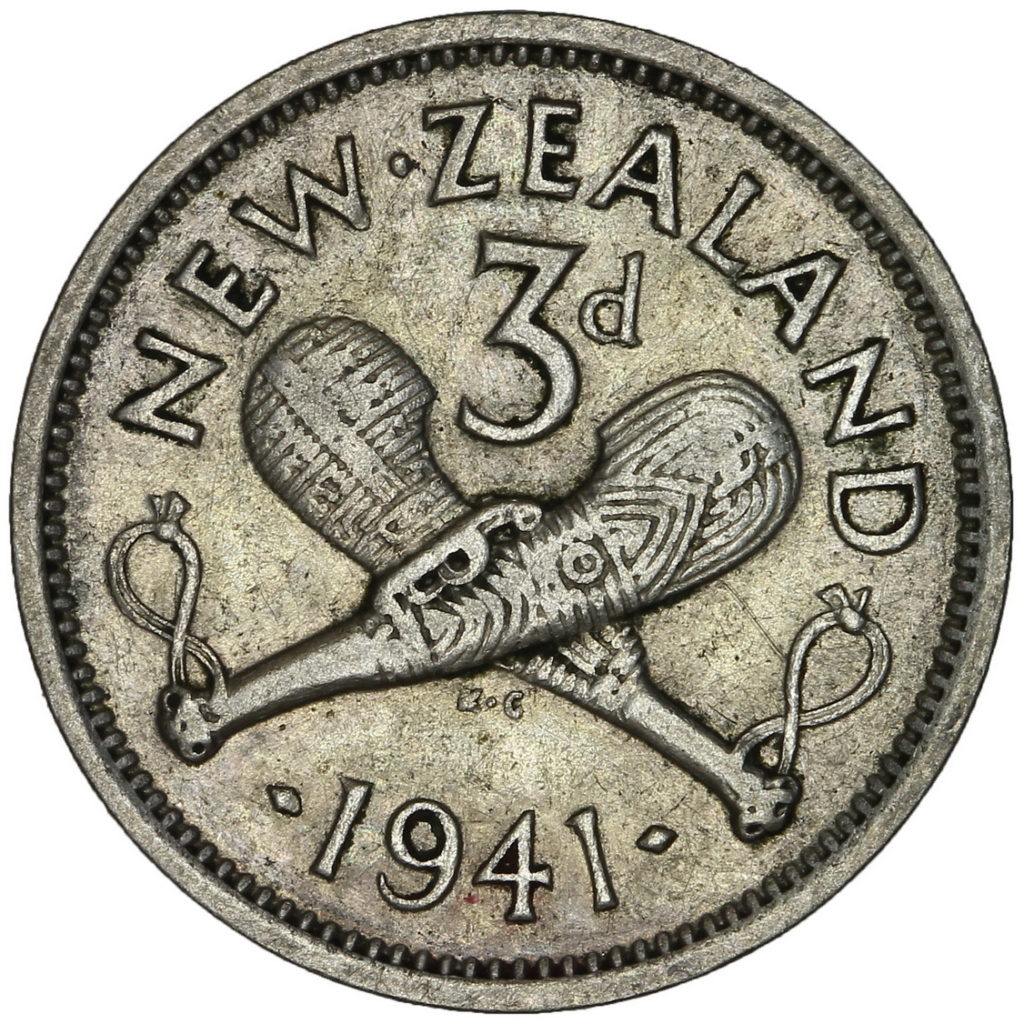 Threepence 1941: Photo Threepence 1941