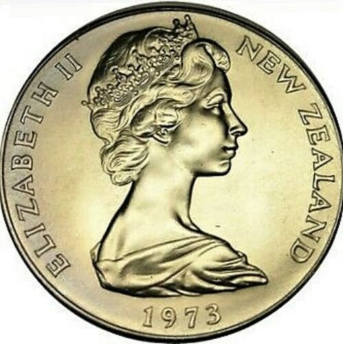 One Dollar 1973: Photo Proof Coin, New Zealand, Dollar 1973