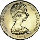 New Zealand / One Dollar 1973 / Proof - obverse photo