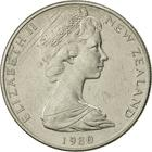 New Zealand / Ten Cents 1980 - obverse photo