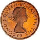 Halfpenny 1953: Photo Proof Coin - 1/2 Penny, New Zealand, 1953