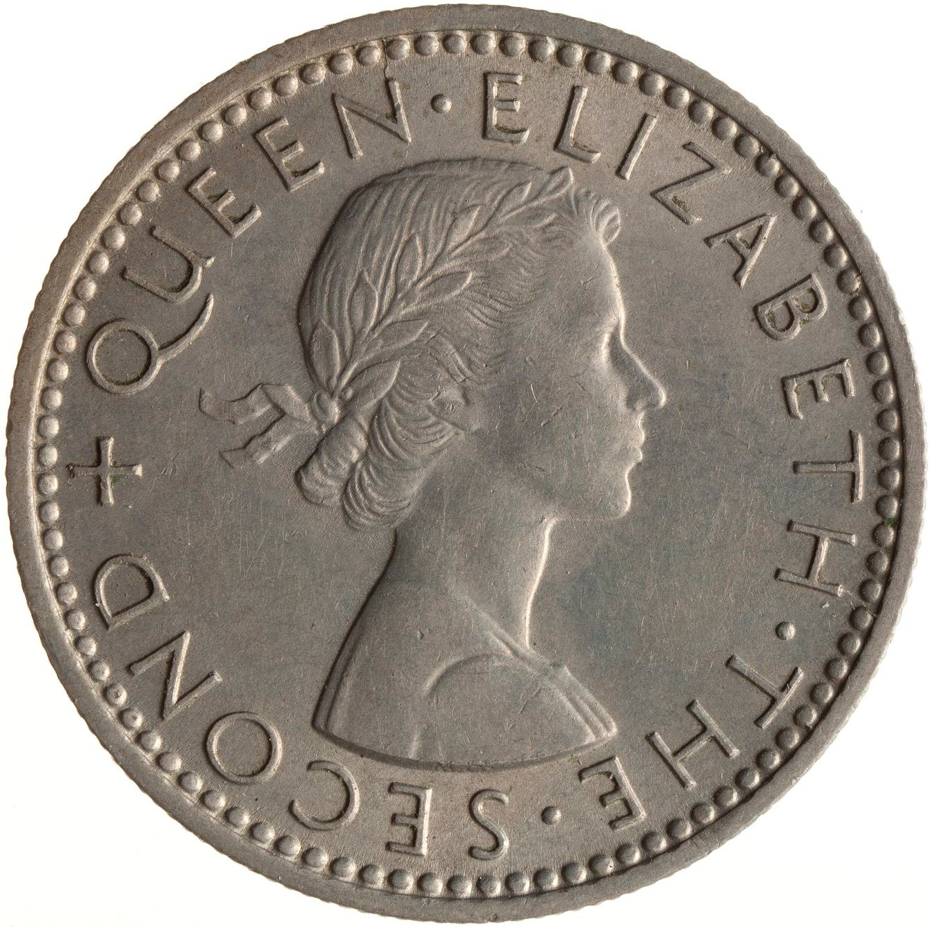 Sixpence 1958: Photo Coin - 6 Pence, New Zealand, 1958