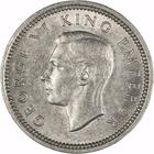 New Zealand / Threepence 1940 - obverse photo