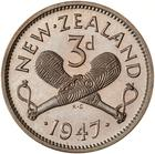 New Zealand / Threepence 1947 - reverse photo