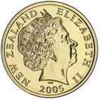 New Zealand / Two Dollars 2005 / In sets (Royal Australian Mint) - obverse photo