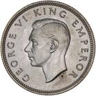 Shilling 1943: Photo GEORGE VI, shilling, 1943