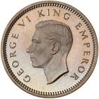 New Zealand / Threepence 1947 - obverse photo