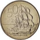 New Zealand / Fifty Cents 1988 - reverse photo