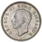 New Zealand / Sixpence 1941 - obverse photo