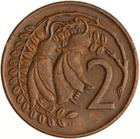 New Zealand / Two Cents 1972 - reverse photo