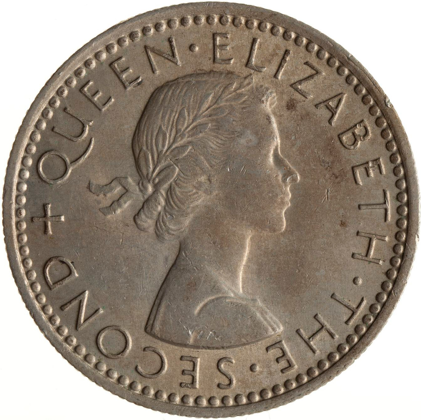 Sixpence 1963: Photo Coin - 6 Pence, New Zealand, 1963