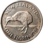 Florin 1961: Photo New Zealand 1961 florin