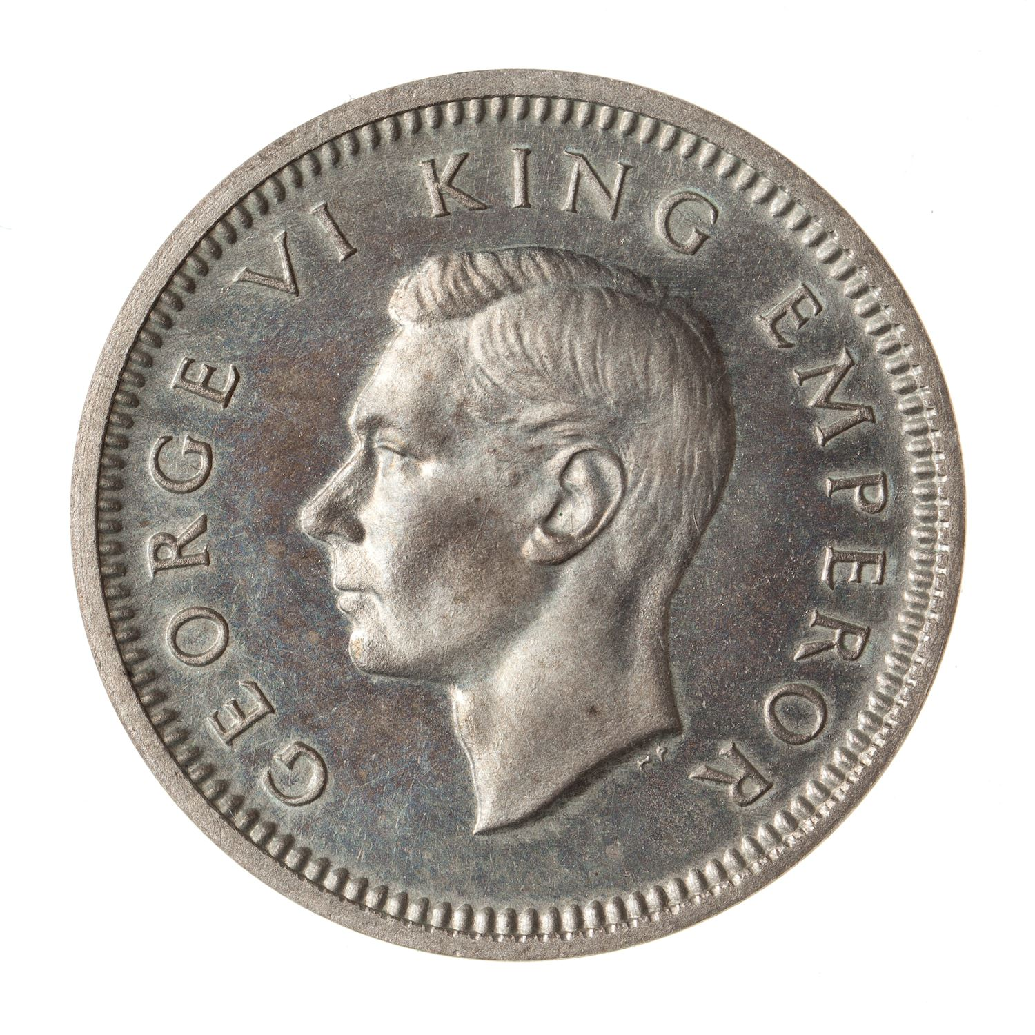 Threepence: Photo Proof Coin - 3 Pence, New Zealand, 1937
