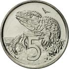 New Zealand / Five Cents 1996 - reverse photo