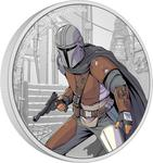Niue / Silver Ounce 2021 Mandalorian - reverse photo