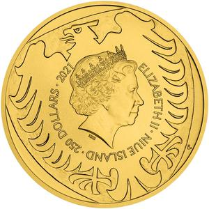 Niue / Gold Five Ounces (5 oz), Bullion - obverse photo