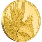 Niue / Gold Quarter Ounce 2021 Lord of the Rings - Sauron - reverse photo