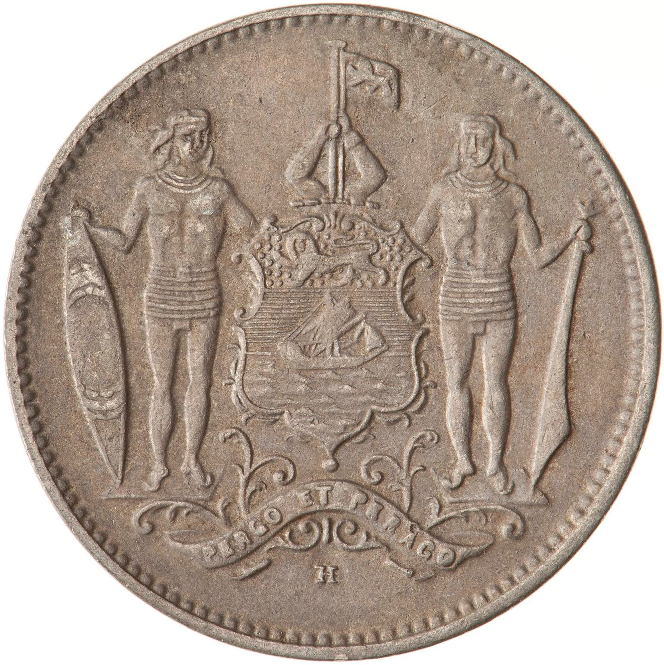 North Borneo / One Cent 1938 - obverse photo