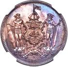 North Borneo / One Cent 1884 - obverse photo