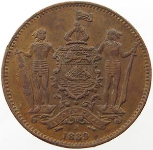North Borneo / One Cent 1889 - obverse photo
