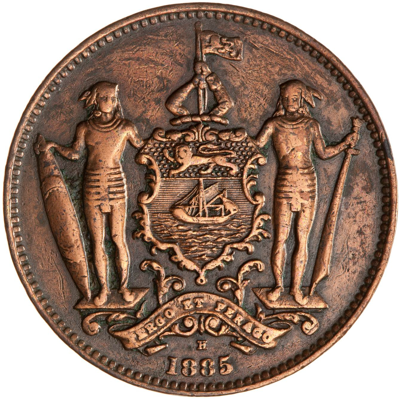Coins North Borneo One Cent 1885 Online Coin Club