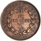 North Borneo / One Cent 1887 - reverse photo