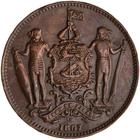 North Borneo / One Cent 1887 - obverse photo