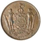 North Borneo / One Cent 1907 - obverse photo