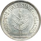 Palestine (British Mandate) / One Hundred Mils 1931 - obverse photo