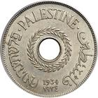 Palestine (British Mandate) / Twenty Mils 1934 - obverse photo