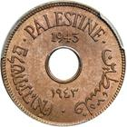 Ten Mils 1943: Photo Palestine 1943 10 mils