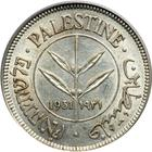Fifty Mils 1931: Photo Palestine 1931 50 mils
