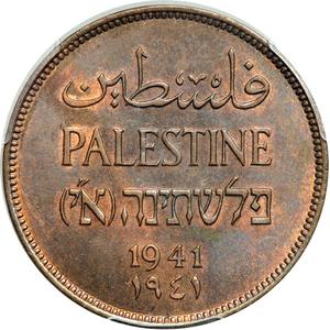 Palestine (British Mandate) / Two Mils 1941 - obverse photo
