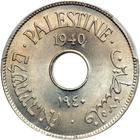 Palestine (British Mandate) / Ten Mils 1940 - obverse photo