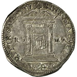 Papal States / Testone 1628 - reverse photo