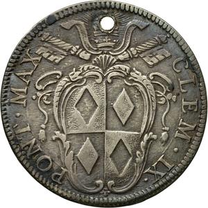 Papal States / Testone 1667 - reverse photo