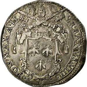 Papal States / Testone 1628 - obverse photo
