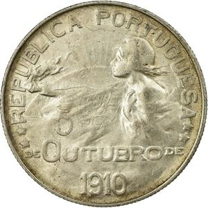 Portugal / One Escudo 1910 - obverse photo