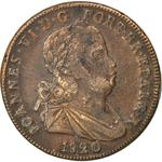 Portugal, Kingdom of / Forty Reis 1820 - obverse photo