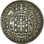 Portugal, Kingdom of / Four Hundred Reis 1820 - obverse photo