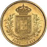 Portugal, Kingdom of / Five Thousand Reis 1862 - reverse photo