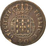 Portugal, Kingdom of / Forty Reis 1820 - reverse photo