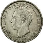 Portugal, Kingdom of / Five Hundred Reis 1886 - obverse photo