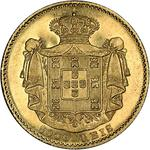 Portugal, Kingdom of / Five Thousand Reis 1871 - reverse photo