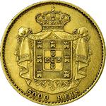 Portugal, Kingdom of / Five Thousand Reis 1872 - reverse photo